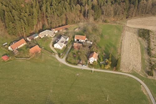 Letecké fotografie Domašín